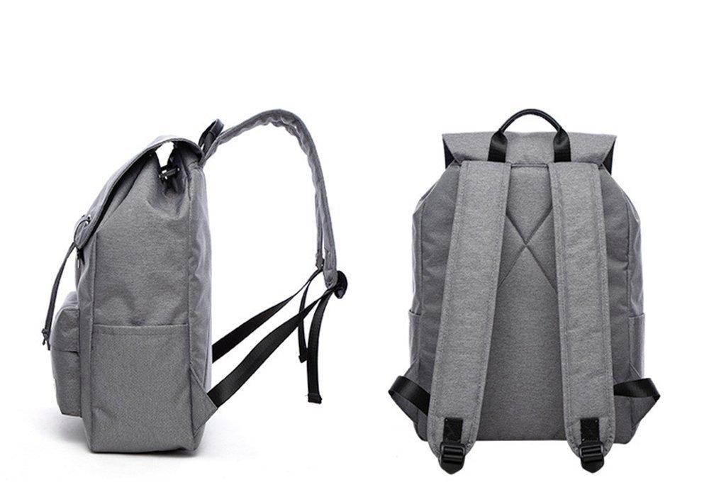 FHGJ Casual Backpack Student Bag Waterproof Travel Lady Joker Backpack,Gray