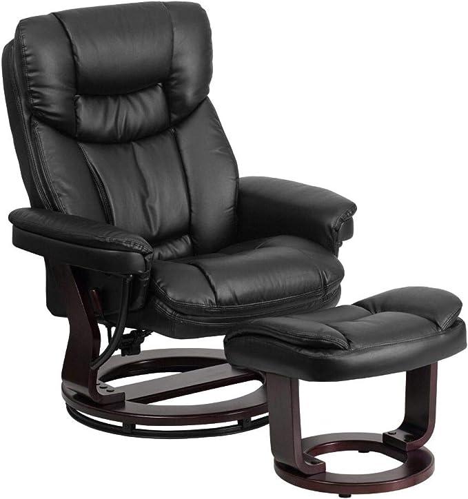 Flash Furniture BT-7821-BK-GG Contemporary Multi-Position Recliner