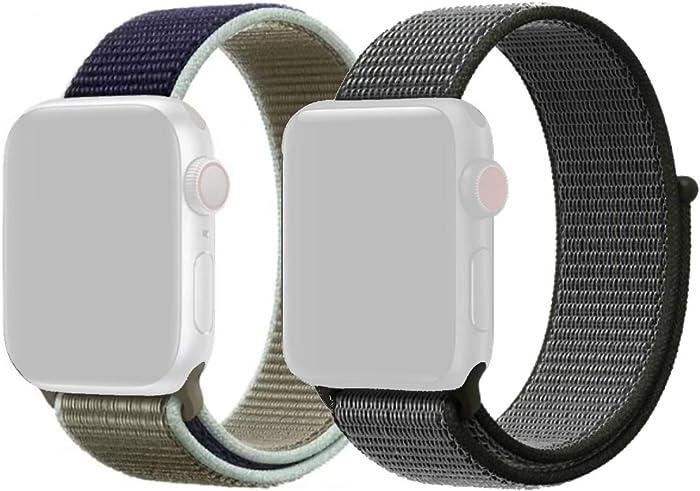 Top 10 Nylon Gray Sport Loop Apple Watch