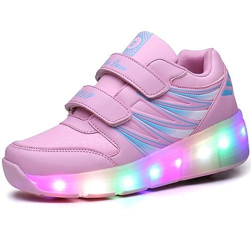SIKAINI Niñas Plataformas Rectas Size: 6UK: Amazon.es: Zapatos y complementos