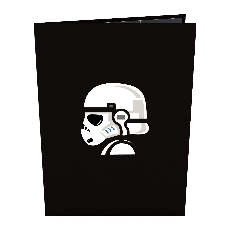 Tarjeta En 3d Star Wars Stormtrooper Squad