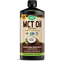 Nature's Way MCT Oil from Coconut Pure Source, No Filler Oils, 30 Fl. Oz. (Packaging May Vary)