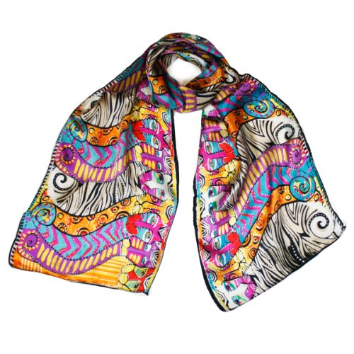 Wrapables Vibrant 100 Silk Scarf