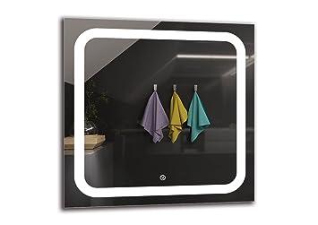 Badspiegel 60x60.Arttor Led Spiegel Deluxe Spiegelmaßen 60x60 Cm Touch