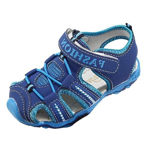 Schuhe Grau Blau Kinder Sport Sandalen Turnschuhe Kinder Grün Schuhe Mädchen Laufschuhe QinMM 19 24 Sommer Strand Jungen CdeWxoBr