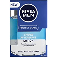 NIVEA MEN Protect & Care Aftershave Lotion, 100ml