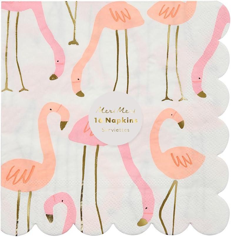 Large Flamingo Candle Pink DIY Cake Cupcakes Birthday Party Decorations Meri Meri