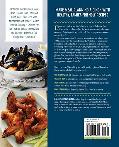 Large Product Image of The Instant Pot Electric Pressure Cooker Cookbook: Easy Recipes for Fast & Healthy Meals