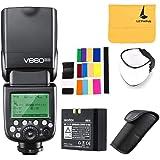 GODOX V860II-N 2.4G TTL Li-on Battery Camera Flash Compatible for Nikon D800 D700 D7100 D7000 D5200 D5100 D5000 D300 D300S D3