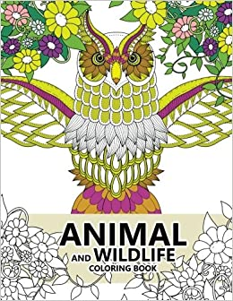 Amazon.com: Animal and Wildlife Coloring book: Animals and Magic ...