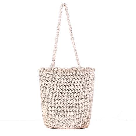 Bolsa de playa de paja, Bolso de las mujeres tejidas bolsas ...