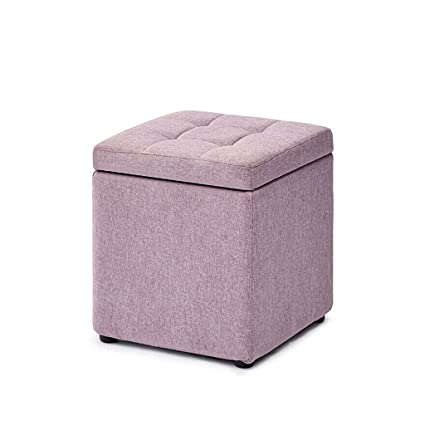 Admirable Amazon Com Xbxdz Storage Ottoman Square Ottoman Creative Dailytribune Chair Design For Home Dailytribuneorg