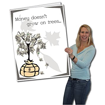 VictoryStore Jumbo Greeting Cards Giant Birthday Card Money Tree 2 X 3