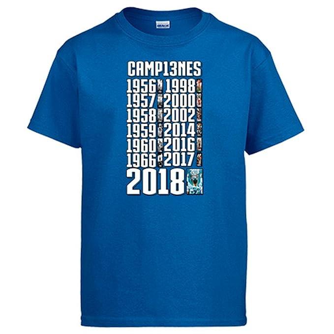 Camiseta Real Madrid campeones de Europa por decimotercera Vez: Amazon.es: Ropa y accesorios