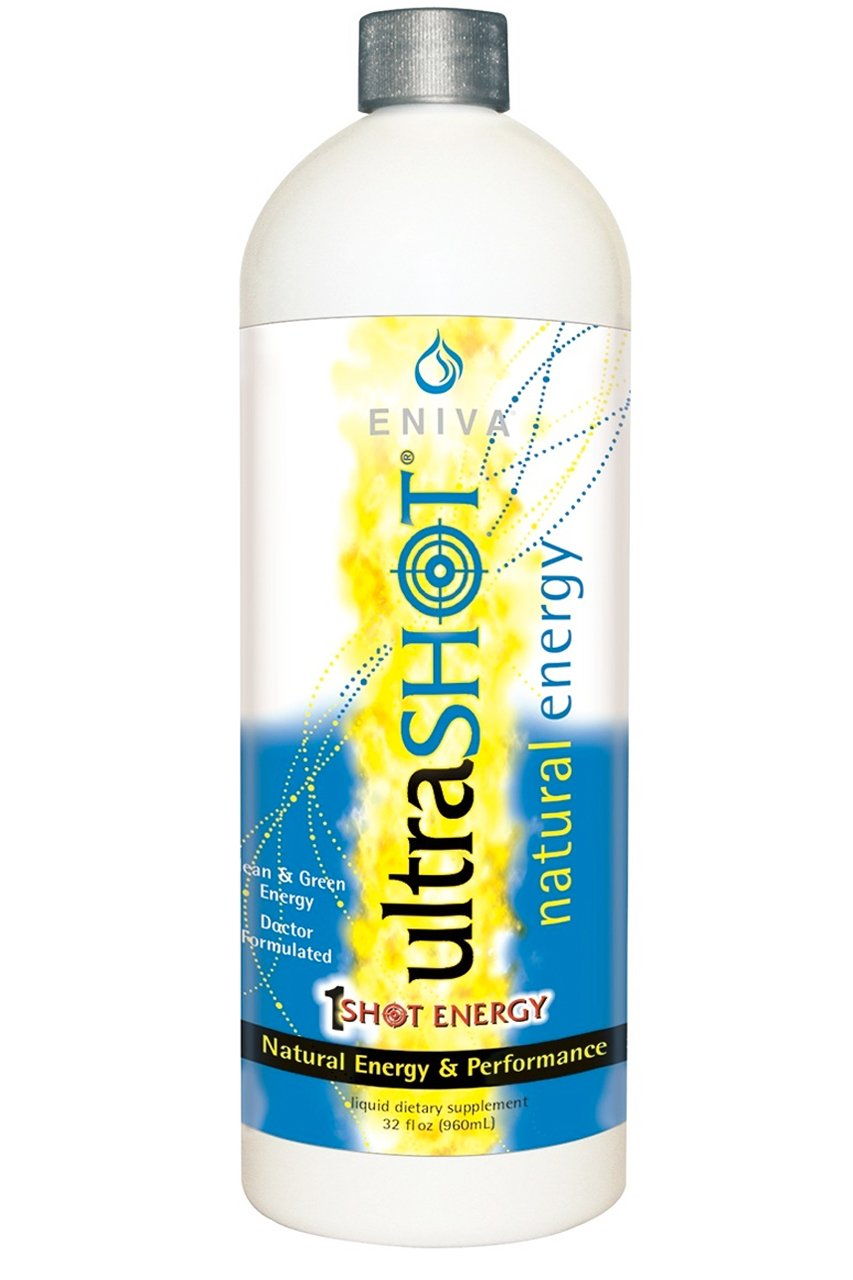 Coffee Replacement | Coffee Alternative | Ultrashot Healthy Energy by Eniva | Dr. Formulated (32 oz)