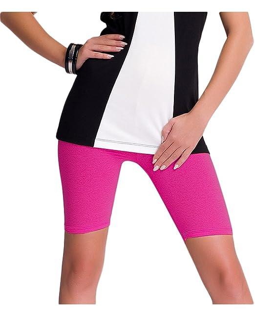 online zu verkaufen schöner Stil stylistisches Aussehen Damen kurze Leggings / Shorts / Radlerhose aus Baumwolle