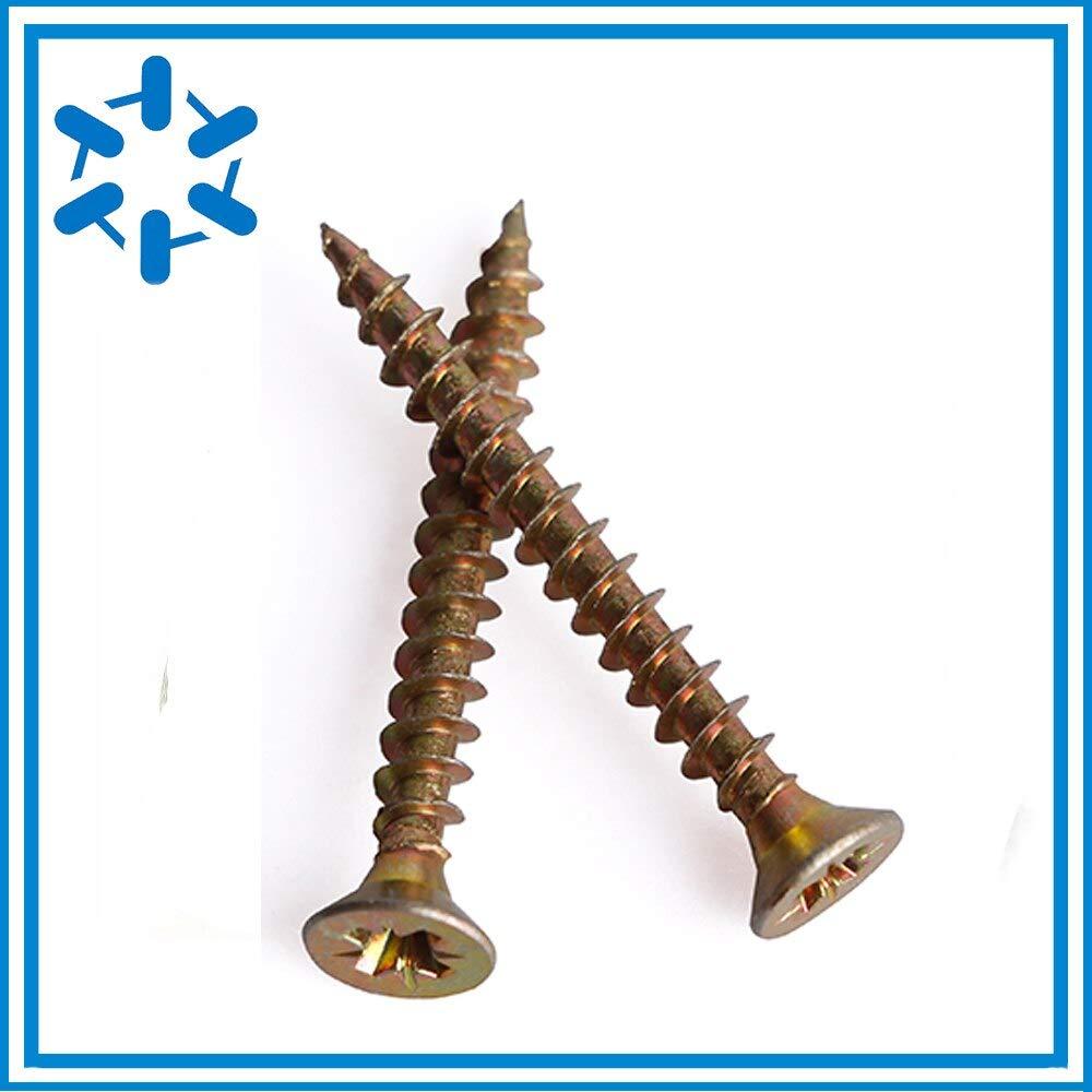 Vesna 50pcs/lot M4M5M6M880/90/100/120/140/150-200 Hardening drywall screw Fiberboard nail Cross countersunk head flat tapping screw
