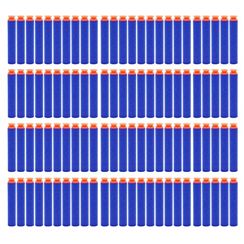 StillCool 7.2cm Foam Darts for Nerf N-strike Elite Series (Dark Blue) (Suction Cup Darts)