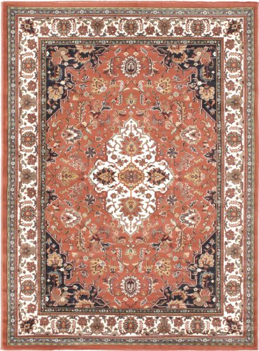 "EcarpetGallery 101766 Medallion Style Copper Traditional Rug, 5'6"" x 7'6"" from eCarpet Gallery"
