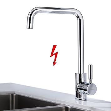 Niederdruck Küche Mischbatterie, BONADE 360° Drehbar ...