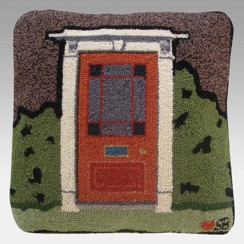 (Susan Branch - Country House- Door Pillow)