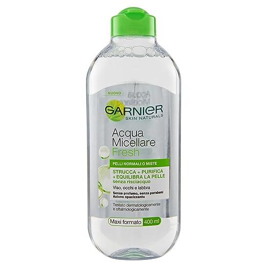 Garnier - Agua micelar con Aceite de argán, 400 ml: Amazon.es: Salud y cuidado personal
