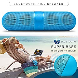 Nut Shop Wireless Bluetooth Portable FM Stereo Speaker For Smartphone Laptop Tablet