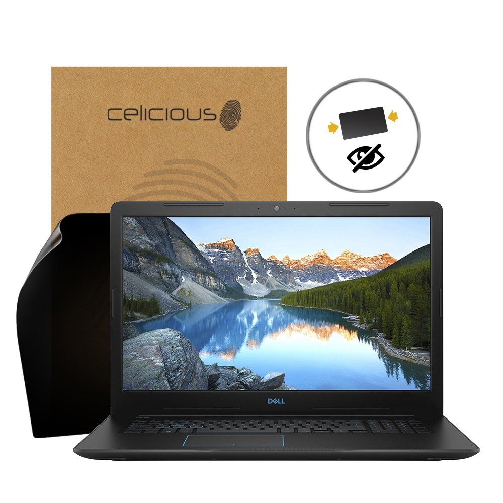 Celicious Privacy 2-Way Anti-Spy Filter Screen Protector Film Compatible with Dell G3 17 3779