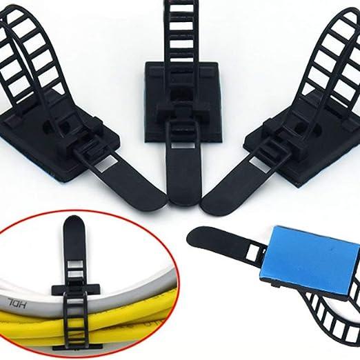 Vektenxi - Cable de sujeción para escritorio, mesa, cable, gestión ...