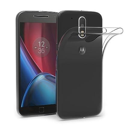 AICEK Funda Motorola Moto G4/ G4 Plus, Motorola Moto G4/ G4 Plus Funda Transparente Gel Silicona Moto G4/ G4 Plus Premium Carcasa para Moto G4/ G4 ...