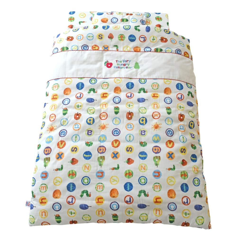 baby.e-sleep(ベビーイースリープ) はらぺこあおむし ベビーふとん9点セット アルファベット 日本製   B07HJF2859