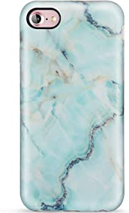 LUMARKE iPhone SE2 Case 2020,iPhone 7 Case,iPhone 8 Case,Cute Grey Gold Marble for Girls Women Slim Fit Soft TPU Protective Phone Case Cover for iPhone 7/iPhone 8/New iPhone SE2