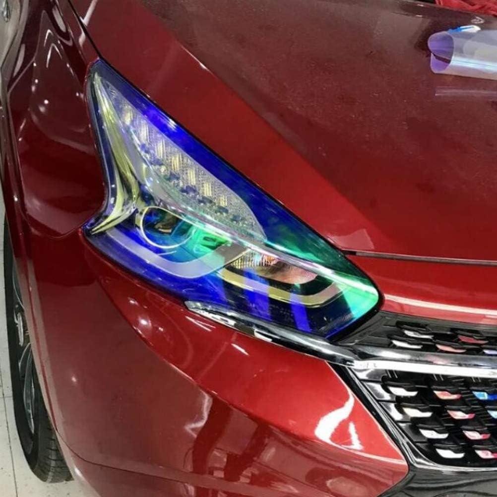 color azul Vosarea 30 x 210 cm L/ámina autoadhesiva para faros de coche