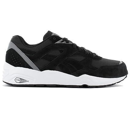 Royaume-Uni disponibilité 74b39 658f0 Puma R698 CORE Chaussures Mode Sneakers Homme Noir Trinomic ...