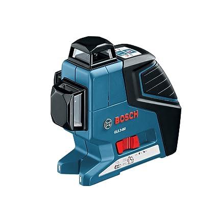 Bosch GLL3-80 3 Plane Leveling-Alignment Laser (Blue)