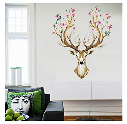 Autocollant Mural Animaux,3D Stickers Muraux,Autocollant Mural  Chambre,Autocollant Mural Chambre Adulte,Home Decoration  Stickers,Decoration Stickers ...