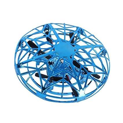 CWLGOOD 3 Colores Drone UFO Flying Ball Toys para Niños RC Mini ...