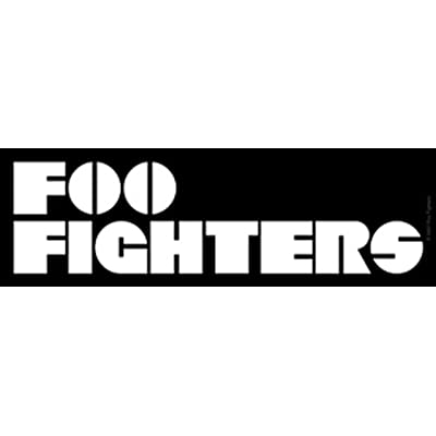 C&D Visionary Licenses Products Foo Fighter Logo Sticker: Toys & Games