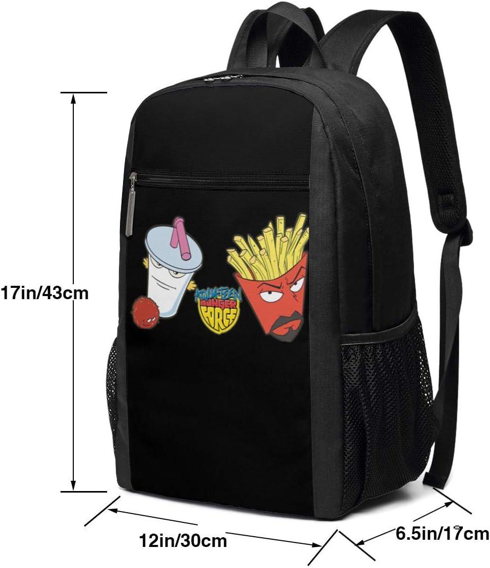 Foixong Aqua Teen Hunger Force Parody Backpack Casual Daypack School Laptop Bag for Womens Mens