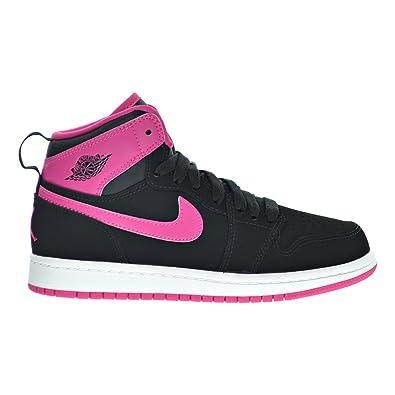 release date: 6da0b 9c2b9 Jordan 1 Retro High GP Little Kid s Shoes Black Vivid Pink White 705321-
