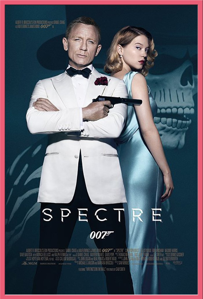 James Bond 007 - Spectre - One Sheet - Filmposter Kino Movie 007 ...