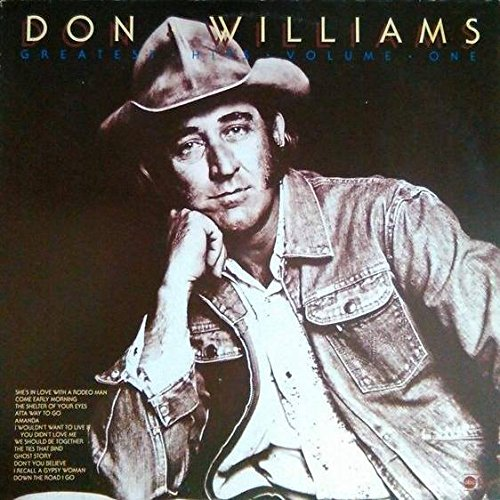 DON WILLIAMS - Don Williams - Greatest Hits - Volume One - Abc Records - 27 588 Et - Zortam Music
