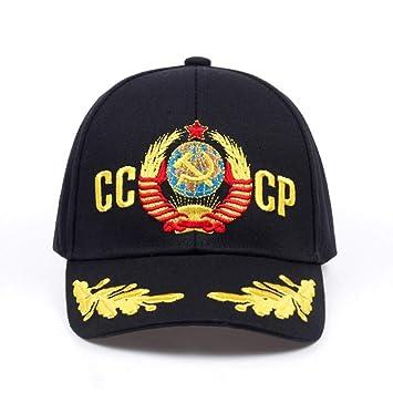 ENGXING CCCP URSS Gorra De Béisbol De Estilo Ruso Gorra Snapback ...