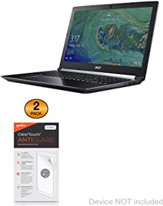Acer Aspire 7 (A715-72G) Screen Protector, BoxWave® [ClearTouch Anti-Glare (2-Pack)] Anti-Fingerprint Matte Film Skin for Acer Aspire 7 (A715-72G)