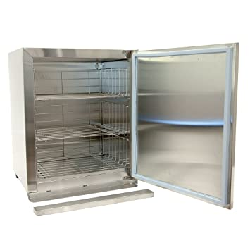 towel warmer cabinet. Cre8tion Stainless Steel Hot Towel Cabinet Warmer - 3 Levels, 64 Towels 110v T