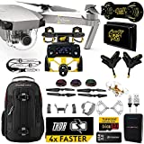 DJI Mavic PRO Platinum MaXX Mod Long Range Kit w/ Backpack, Custom Bracket + Mount, Sunshade, Battery + Thor Charger, Lens Filters & More