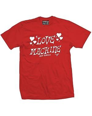 Aesop Originals Men's Love Machine T-Shirt S Red