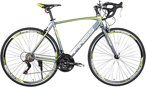 UNDERSPOR Bicicleta De Carretera para Adultos, Bicicleta De Carreras De Disco con Freno De Disco Mecánico, Bicicleta De Carretera Rígida con Marco De Aluminio, 26 Pulgadas Y 21 Velocidades: Amazon.es: Deportes y