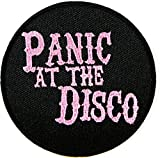 Panic At the Disco Rock Band Logo Vest Jacket Hat Hoodie Backpack Patch Iron On