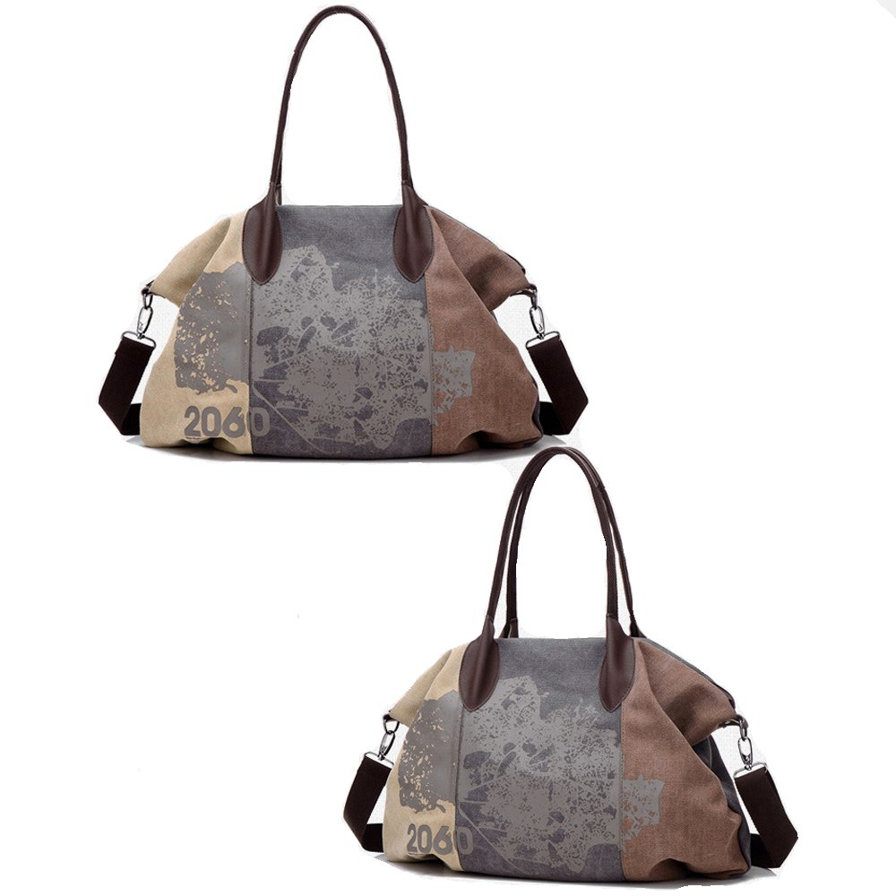 Women Shoulder Bags,Chikencall Vintage Hobo Canvas Handbag Tote Shopper Purse